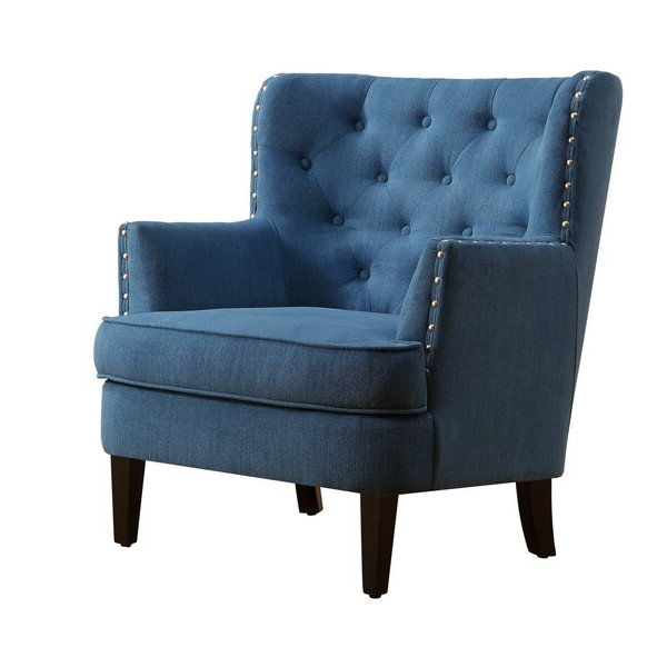 Lenaghan Wingback Chair | Wingback Chair, Blue Accent Chairs Throughout Lenaghan Wingback Chairs (View 2 of 20)