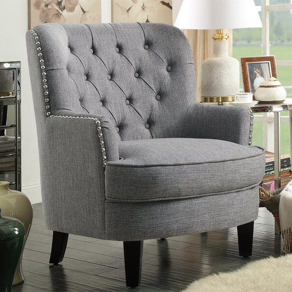 Lenaghan Wingback Chair With Regard To Lenaghan Wingback Chairs (View 5 of 20)