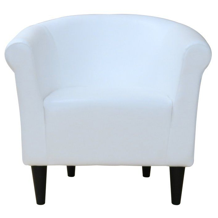 Liam Barrel Chair | Club Chairs, Faux Leather Chair, Barrel Intended For Liam Faux Leather Barrel Chairs (View 4 of 20)