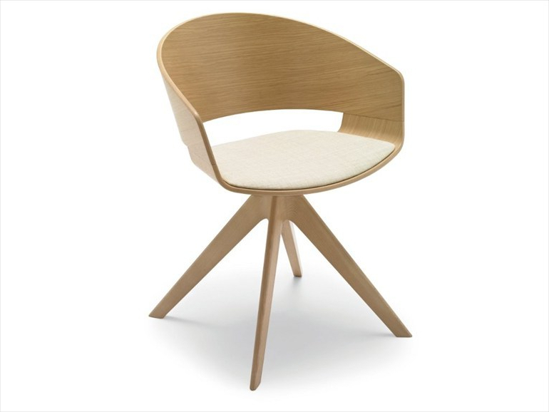 Lievore Altherr Molina New Ronda Armchair Throughout Ronda Barrel Chairs (View 8 of 20)