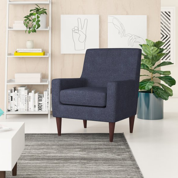 Light Blue Armchair Throughout Ragsdale Armchairs (View 6 of 20)