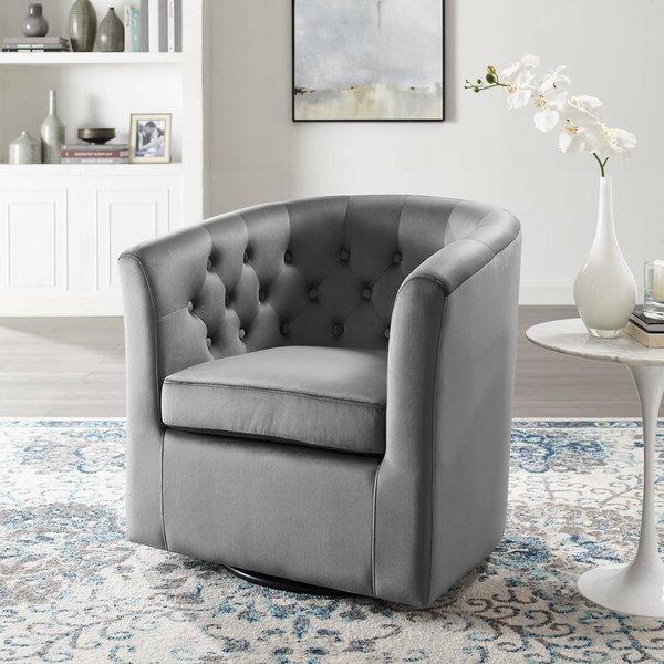 Light Grey Armchair Regarding Suki Armchairs By Canora Grey (View 4 of 20)