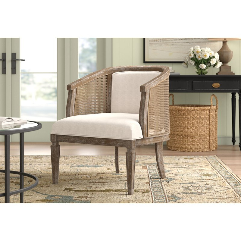 Lindsey Barrel Chair With Regard To Briseno Barrel Chairs (View 11 of 20)