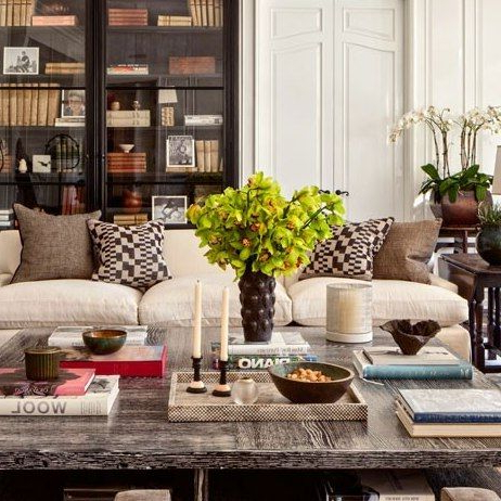 Look Inside Some Of Designer Sandy Gallin's Most Coveted With Regard To Gallin Wingback Chairs (View 9 of 20)