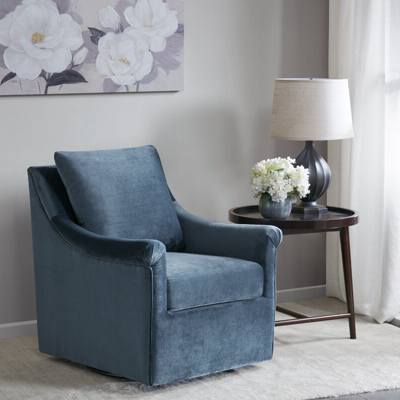 Lundell Swivel Armchair Intended For Cohutta Armchairs (View 17 of 20)