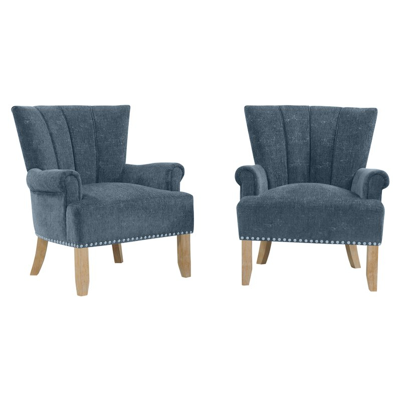 Lyric Armchair In Hanner Polyester Armchairs (View 19 of 20)