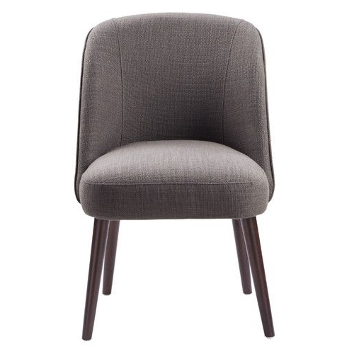 Madison Park Bexley Parsons Chair | Round Back Dining Chairs With Madison Avenue Tufted Cotton Upholstered Dining Chairs (set Of 2) (View 13 of 20)
