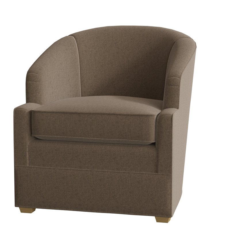 Manning Barrel Chair With Claudel Polyester Blend Barrel Chairs (View 2 of 20)