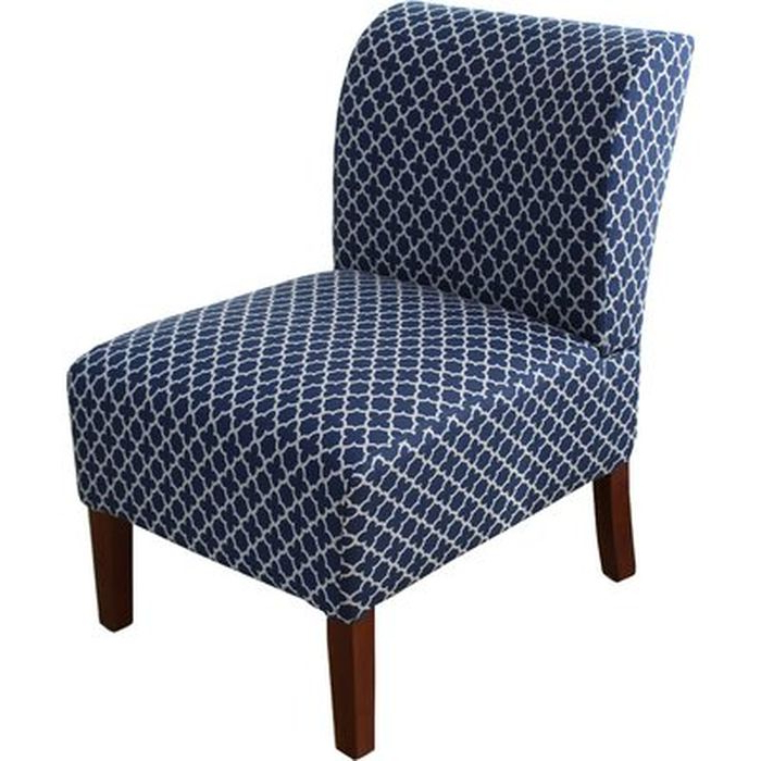 Maturin Slipper Chair – Wayfair Throughout Aime Upholstered Parsons Chairs In Beige (View 17 of 20)