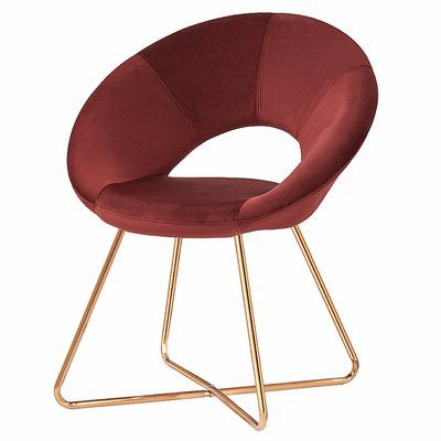 Mercer41 Focht Armchair Upholstery Color: Rust Red In 2020 Intended For Focht Armchairs (View 11 of 20)