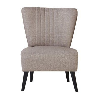Mercury Row Trent Side Chair Upholstery Color: Toffee In With Regard To Trent Side Chairs (View 9 of 20)