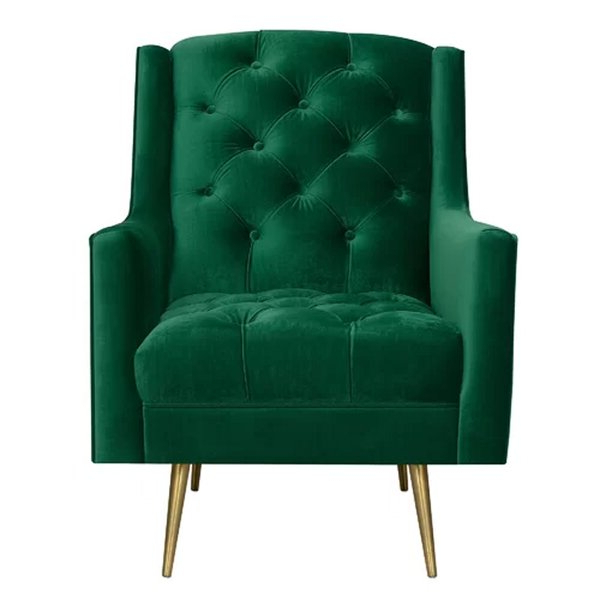 Mid Century Modern Accent Chairs Throughout Armory Fabric Armchairs (View 17 of 20)