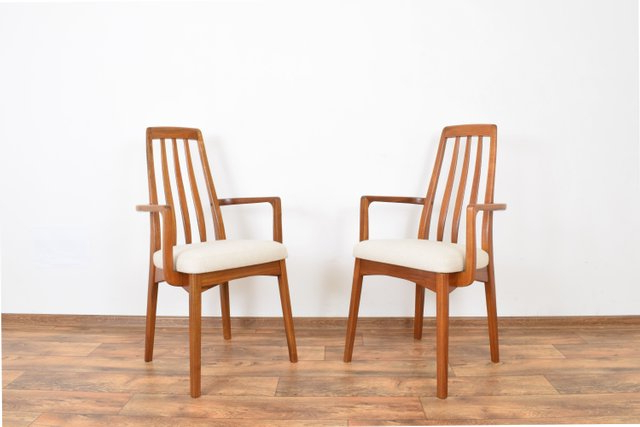 Mid Century Teak Side Chairsbenny Linden, 1970s, Set Of 2 With Esmund Side Chairs (set Of 2) (View 19 of 20)