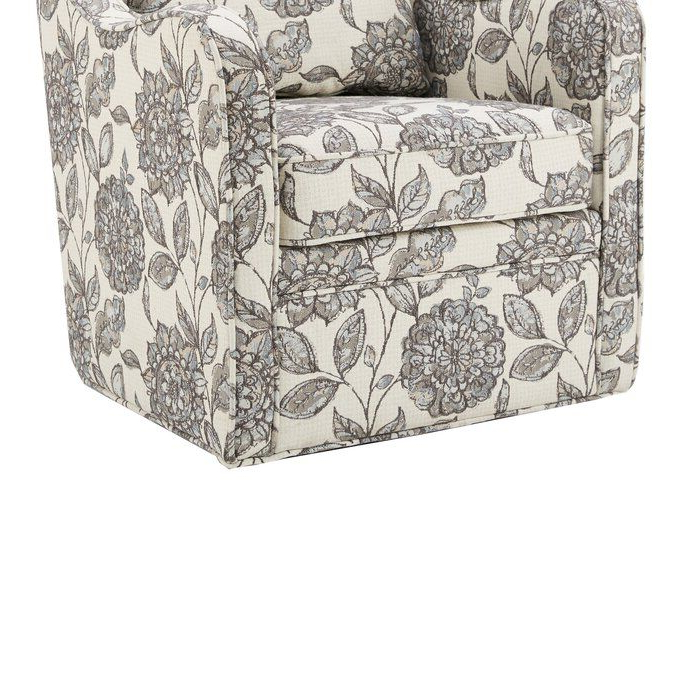 Mistana™ Kaleb Swivel Glider – Vozeli Within Loftus Swivel Armchairs (View 19 of 20)