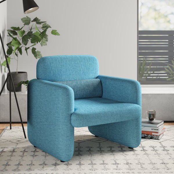 Modern & Contemporary Azemmour Woven Arm Chair Intended For Oglesby Armchairs (View 20 of 20)