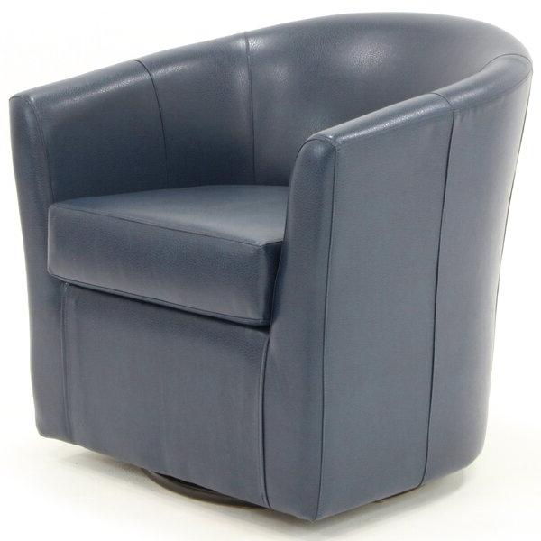 Molinari Swivel Barrel Chair In Molinari Swivel Barrel Chairs (View 3 of 20)