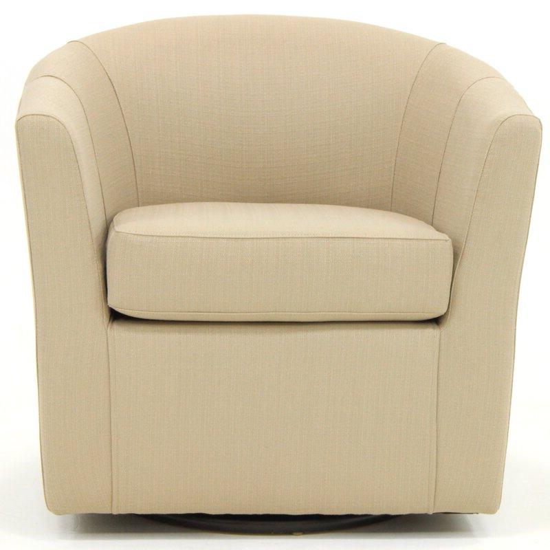 Molinari Swivel Barrel Chair Intended For Molinari Swivel Barrel Chairs (View 2 of 20)