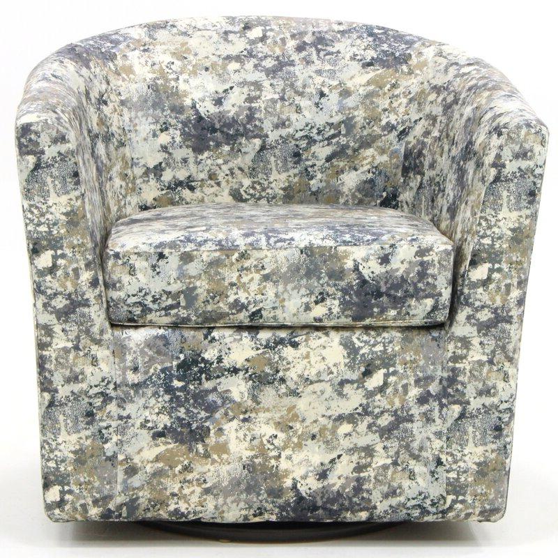 Molinari Swivel Barrel Chair Intended For Molinari Swivel Barrel Chairs (View 9 of 20)