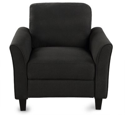 Motala Armchair Fabric: Black With Regard To Leppert Armchairs (View 18 of 20)