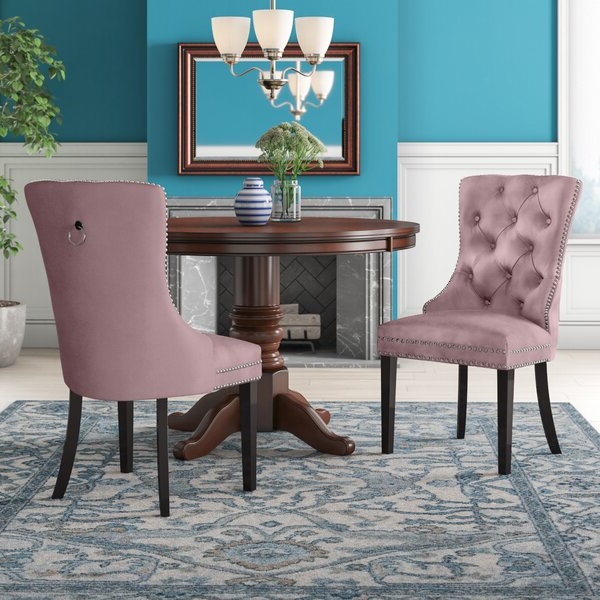 Mustard Dining Chair Inside Bob Stripe Upholstered Dining Chairs (set Of 2) (View 10 of 20)