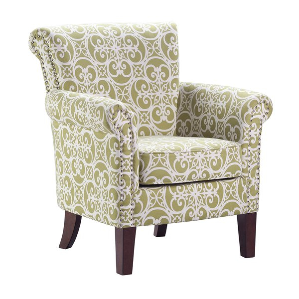 Nailhead Trim Accent Chair Regarding Suki Armchairs By Canora Grey (View 13 of 20)