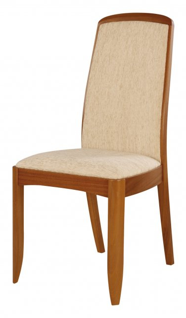 Nathan 3804 Teak Fully Upholstered Dining Chair Within Carlton Wood Leg Upholstered Dining Chairs (View 19 of 20)