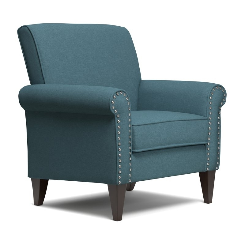 Navy Blue Accent Chair You'll Love In 2021 – Visualhunt With Loftus Swivel Armchairs (View 11 of 20)