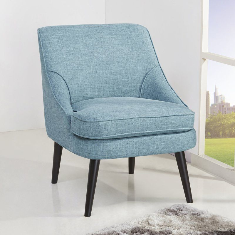 Nestor Slipper Chair | Accent Chairs, Upholstered Accent With Regard To Nestor Wingback Chairs (View 19 of 20)