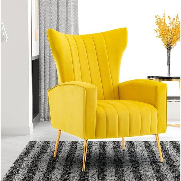 Nestor Wingback Chair In 2020 | Wingback Chair, Chair, Chair Inside Nestor Wingback Chairs (View 7 of 20)