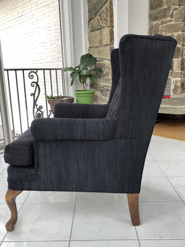 New And Used Armchair For Sale In Hyattsville, Md – Offerup With Regard To Jarin Faux Leather Armchairs (View 13 of 20)