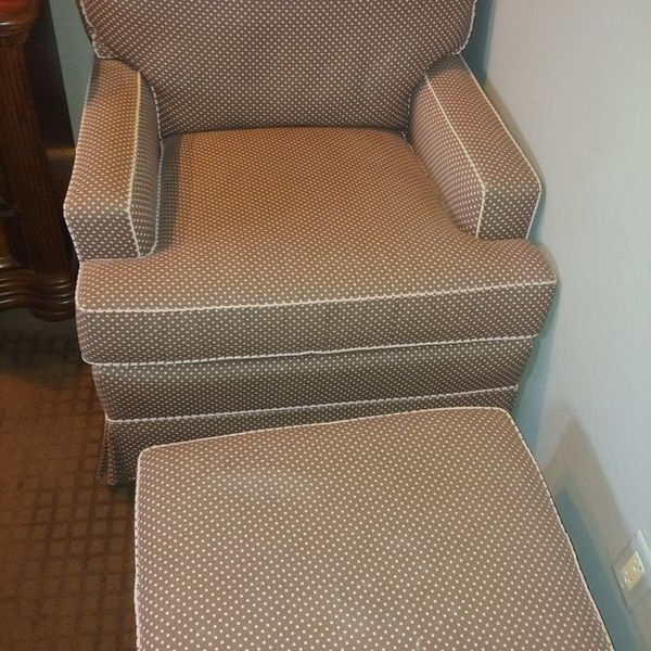 New And Used Chair With Ottoman For Sale In Surprise, Az Within Akimitsu Barrel Chair And Ottoman Sets (View 14 of 20)
