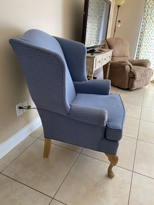 New And Used Wingback Chair For Sale In Melbourne, Fl – Offerup Throughout Waterton Wingback Chairs (View 18 of 20)
