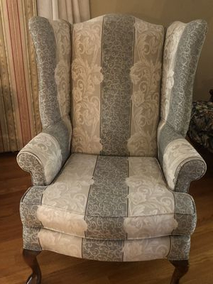 New And Used Wingback Chair For Sale In New York, Ny – Offerup Throughout Lenaghan Wingback Chairs (View 15 of 20)