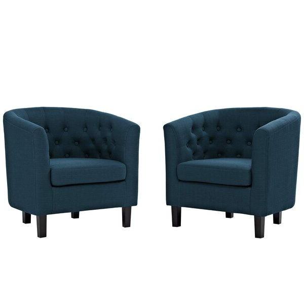 "New Ziaa 21"" Armchair (set Of 2). Accent Chairs [$ (View 2 of 20)"