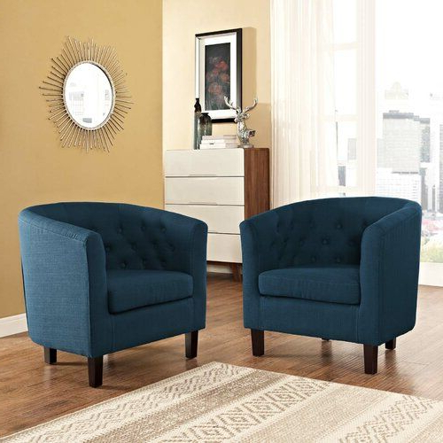 Featured Photo of Ziaa Armchairs (Set Of 2)