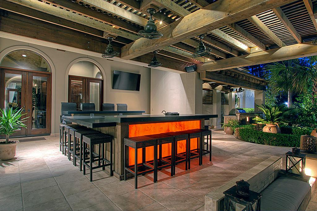 Outdoor Home Renovations With The Highest Return On Investment With Regard To Coomer Faux Leather Barrel Chairs (View 19 of 20)