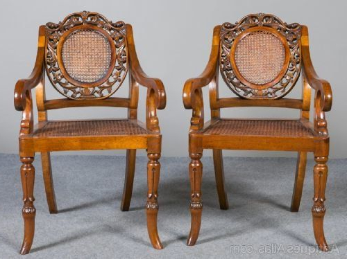 Pair Of Anglo Indian Elbow Chairs | Chair, Antique Armchairs Within Ragsdale Armchairs (View 18 of 20)