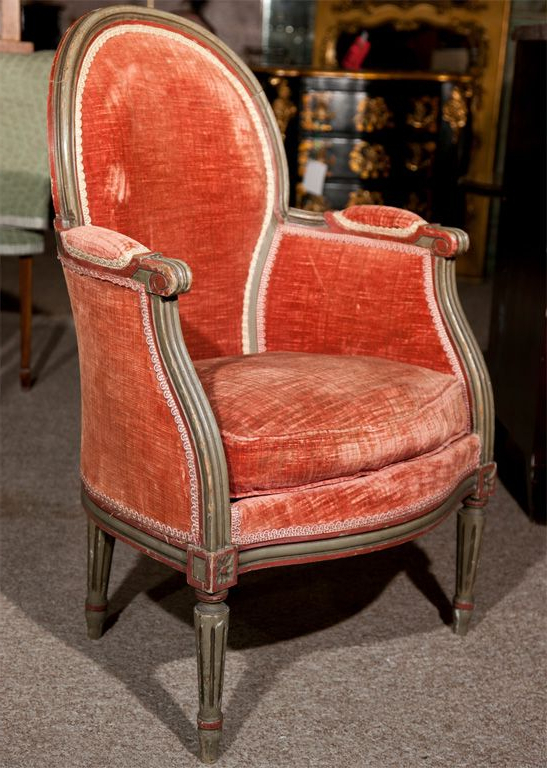 Pair Of Maison Jansen Louis Xiv Style Bergere Chairs Throughout Harmoni Armchairs (View 7 of 20)