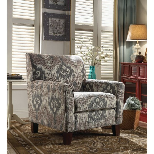 Patterned Chair With Regard To Bethine Polyester Armchairs (set Of 2) (View 11 of 20)