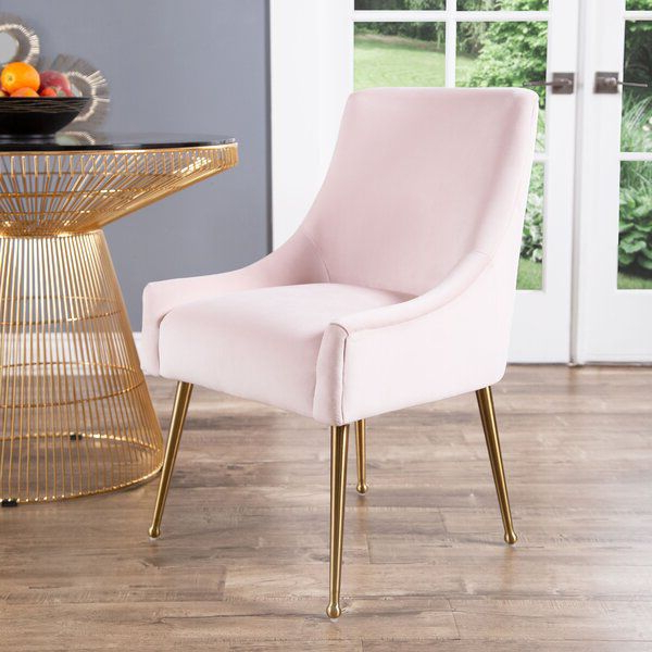 Pin On Dining Chairs In Aime Upholstered Parsons Chairs In Beige (View 4 of 20)