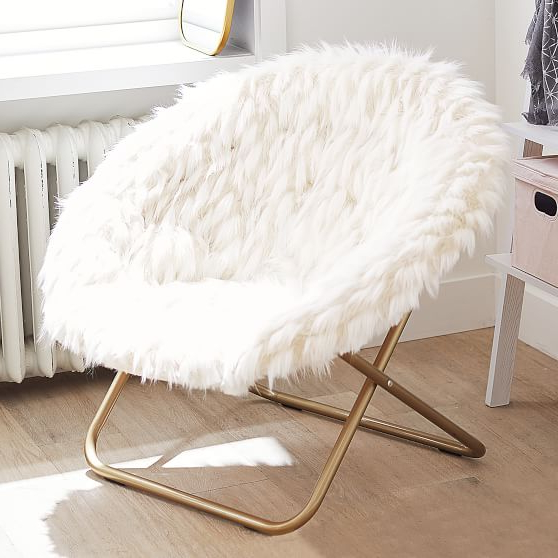 Pin On G Y M Intended For Rosati Mongolian Fur Papasan Chairs (View 10 of 20)