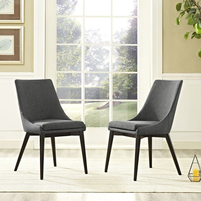 Pin On House Regarding Carlton Wood Leg Upholstered Dining Chairs (View 4 of 20)