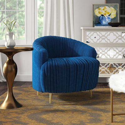 Pin On Sunroom With Hallsville Performance Velvet Armchairs And Ottoman (View 13 of 20)