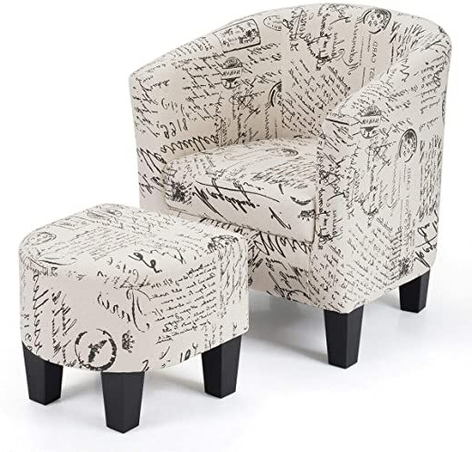 Pinharish Negi On Chair | Upholstered Chairs, Upholster Pertaining To Abbottsmoor Barrel Chair And Ottoman Sets (View 11 of 20)