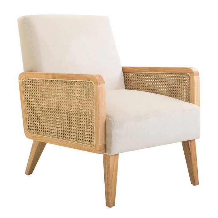 Pinmantlejewellery On Abode In 2020 | Armchair In Hutchinsen Polyester Blend Armchairs (View 13 of 20)