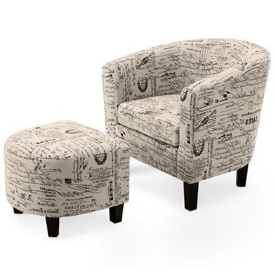 Pinregina Lopez On Furniture | Barrel Chair, Accent Pertaining To Louisiana Barrel Chair And Ottoman Sets (View 8 of 20)