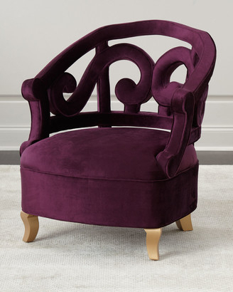Plum Chair | Shop The World's Largest Collection Of Fashion Throughout Claudel Polyester Blend Barrel Chairs (View 11 of 20)
