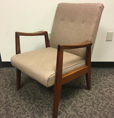 Post 1950 – Retro Office Chair – Vatican With Regard To Goodyear Slipper Chairs (View 11 of 20)