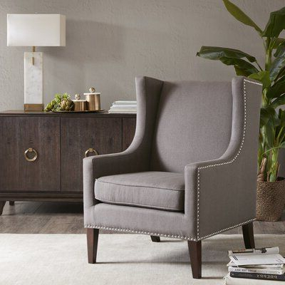 Product Chagnon Wingback Chair | Wingback Chair, Wing Chair For Chagnon Wingback Chairs (View 8 of 20)
