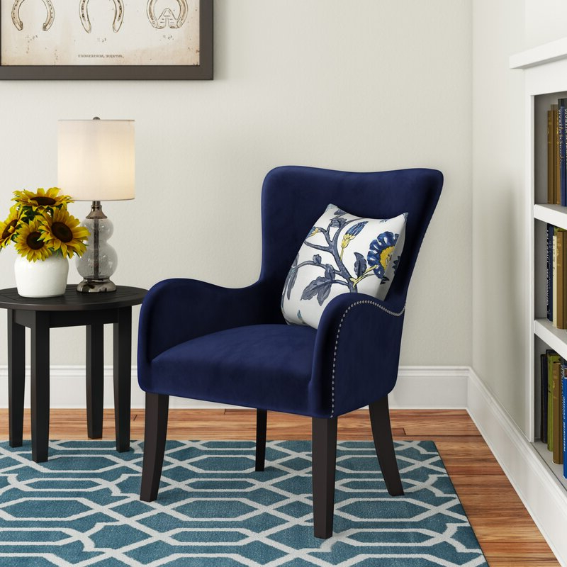 Quesada Wingback Chair With Andover Wingback Chairs (View 8 of 20)